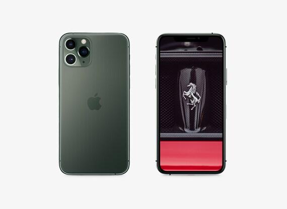 Iphone 11 Pro Hd Wallpaper Ferrari Iphone Iphone Accessory Etsy