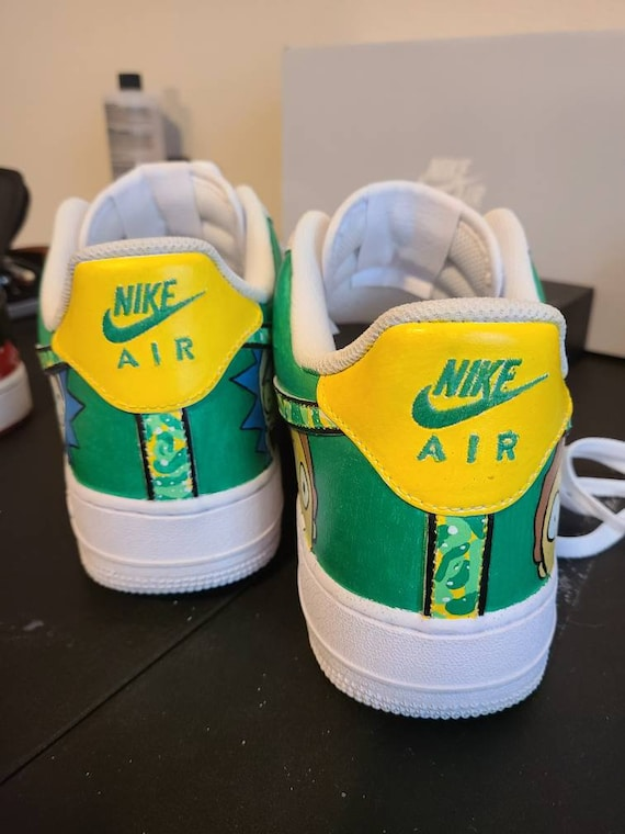 rick and morty air force 1s