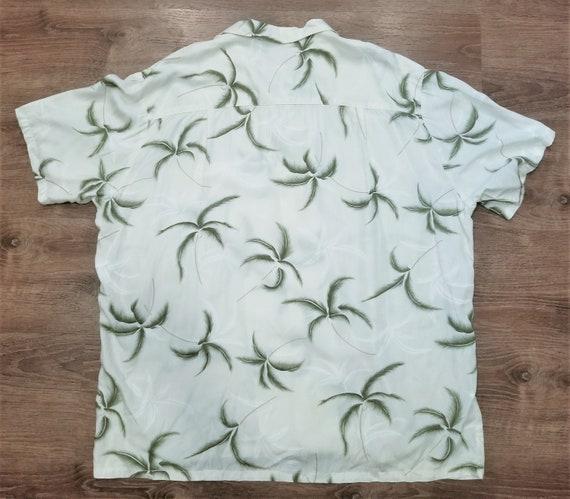 Vintage 1980's PARADISE FOUND Hawaiian Camp Shirt,