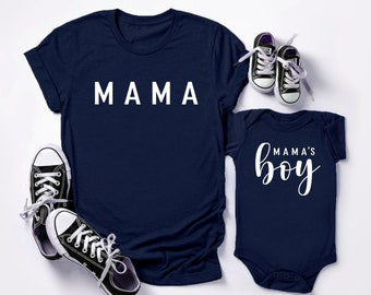 Namast\u00e9 Momma/'s Boy Onesie