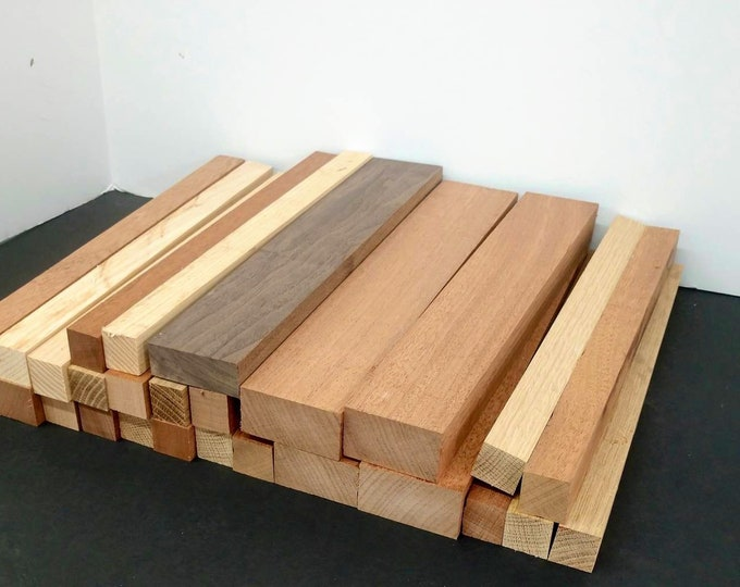 DIY Wood Blanks/ Walnut, White Oak, Mahogany, cherry,maple/ 13.5 inches long, random widths and thickness/ Woodworking / FREE SHIPPING!!!!