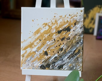 Lightness Abstract Painting on canvas 20x20cm / 8x8 inches