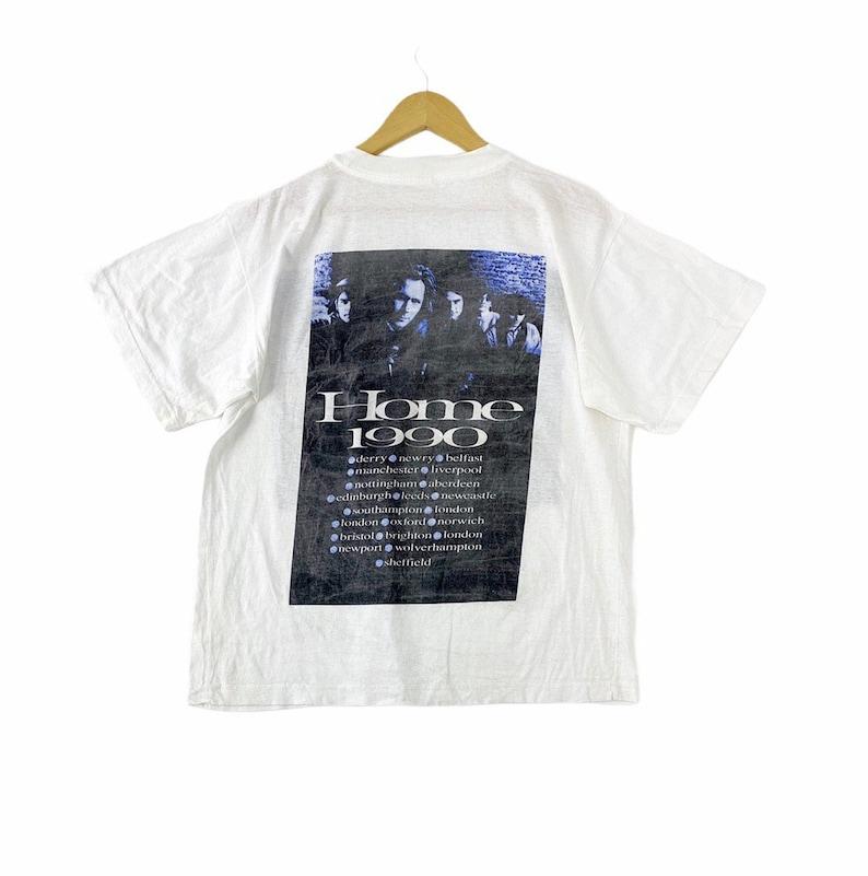 Vintage 90s 1990 hothouse flowers home album tour singles artwork drawing irish rock band punk grunge britpop metal pop art promo t-shirts