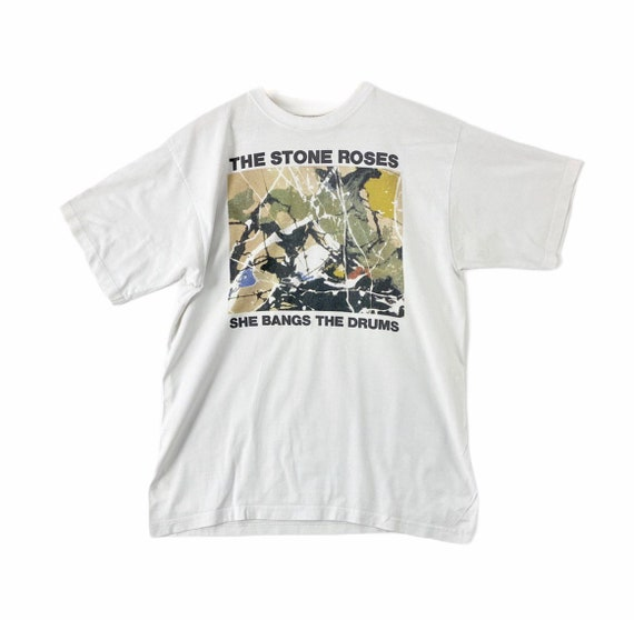 vintage 90s the stone roses she bang the drum big