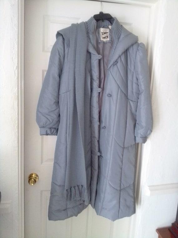 Vintage 1980's puffer coat