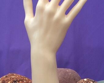 PREMIUM Armband mit Ring Lederarmband Armschmuck Handschmuck BDSM Fetisch Gothik