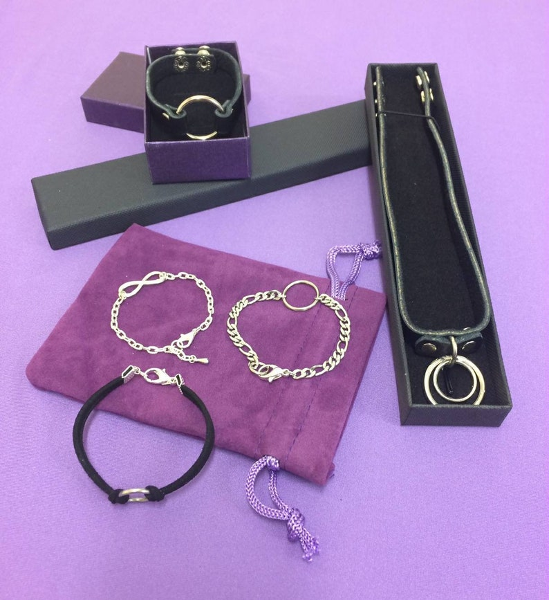 Pet Play Collar 12mm Faux Leather Collar Submissive Collar Kitten Collar Kitten Choker BDSM Collar O Ring Choker O Ring Collar