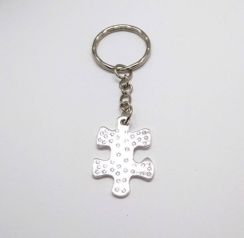 Accessory positive engraved keychain uplifting keyring Gift I Love You To Pieces keychain Motivational keychain