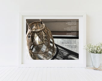 Christian Wall Art | Christian Poems | Inspirational Prints | Digital Download | {In My Doubt}