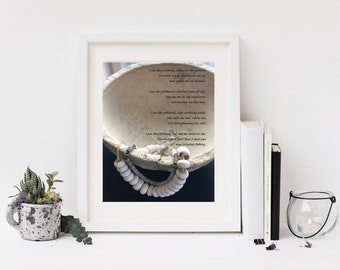 Christian Wall Art | Christian Poems | Inspirational Prints | Digital Download | {Priceless Pottery}