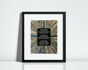 Christian Wall Art | Christian Poems | Inspirational Prints | Digital Download | {You Belong}