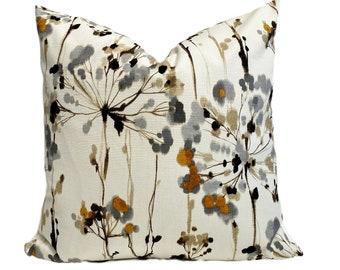 Floral Pillow Decorative Pillow Flower Pillow Cotton Pillow Accent Pillow Small Pillow Lavender Pillow Ticking Pillow