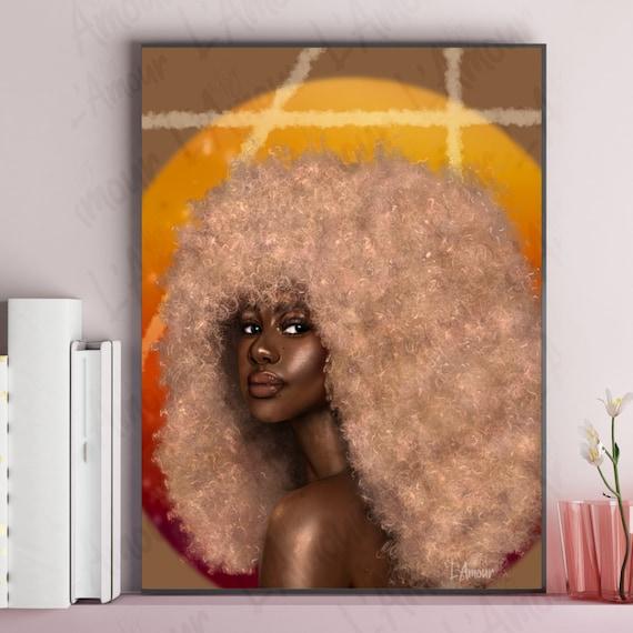 Afro art american african African American
