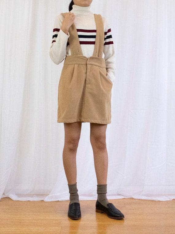 Vintage Corduroy Pinafore Skirt