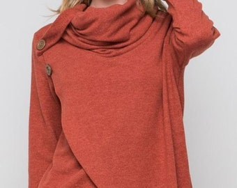 designer bluse marsala top designer bluse Daniela Barbieri cut top marsala tunic bluse Party top marsala party top