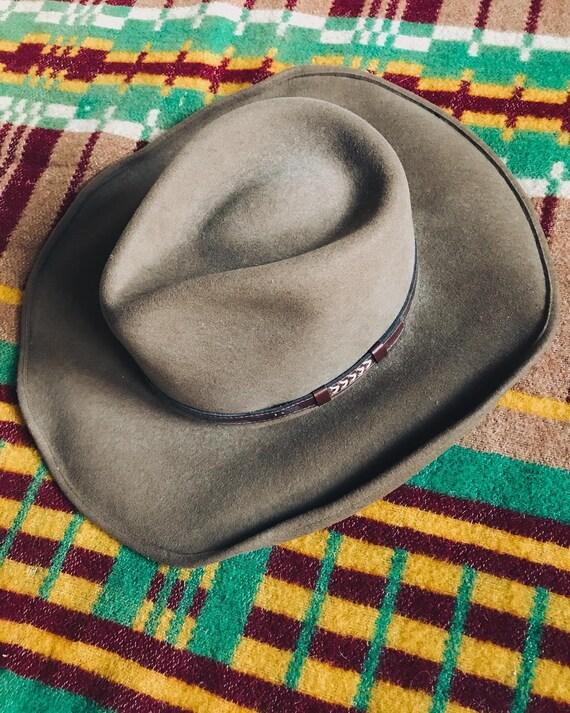 Stetson Buffalo Felt Brown Cowboy Hat