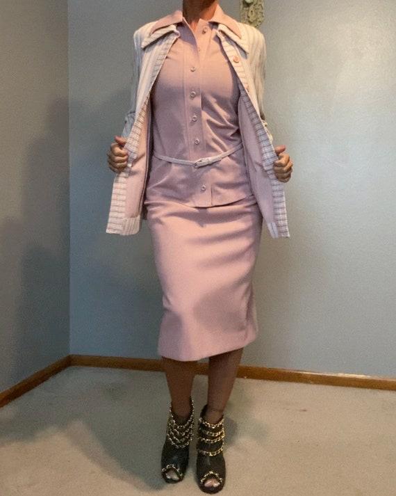 Vintage Butte Knit Skirt Suit Excellent Condition