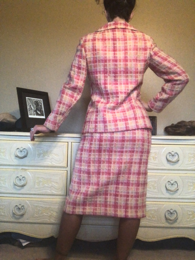 1960\u2019s Impeccably Tailor Brooke Vintage Skirt Suit