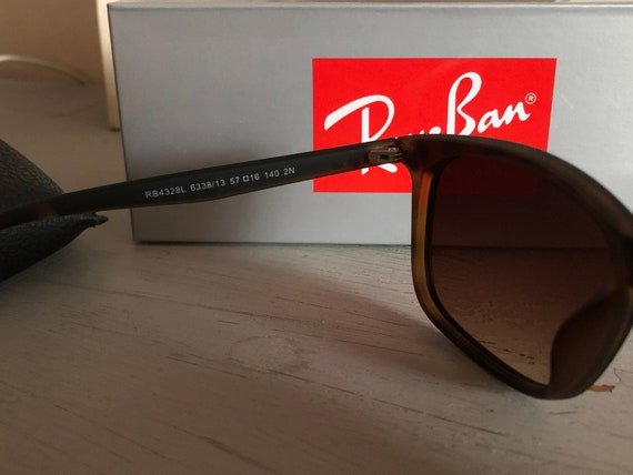 RayBan RB4328L Vintage Sunglasses (Authentic) - image 4