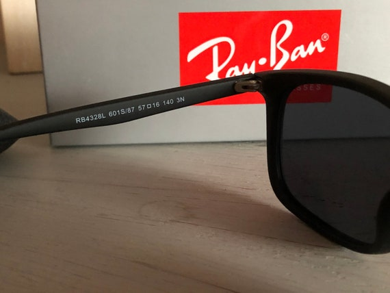 RayBan RB4328L Vintage Sunglasses (Authentic) - image 9