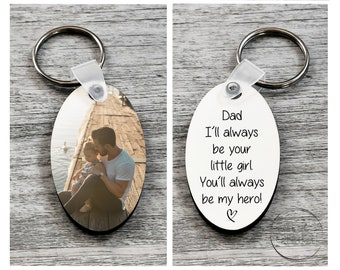 Double-Sided Child/'s Artwork Keyring *Unique Father/'s Day Gift* FREE P/&P
