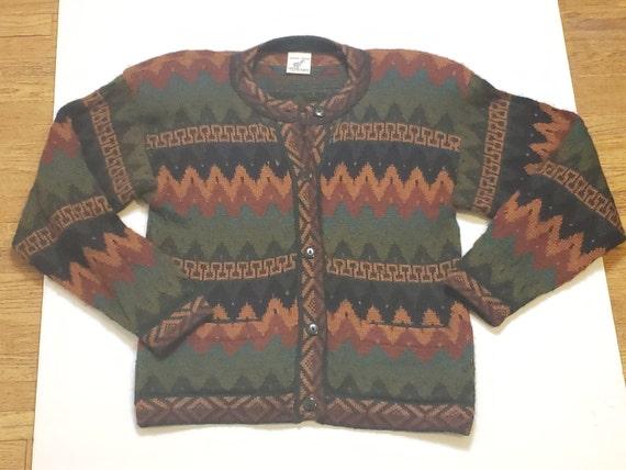 Peruvian Vintage Baby Alpaca Sweater