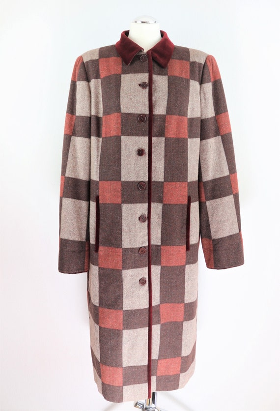 Rena Long Vintage Quilted Coat