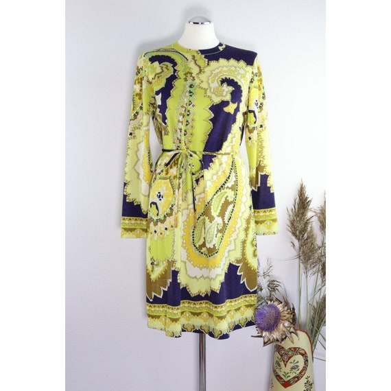 Rare Leonard Paris 60s wool dress
