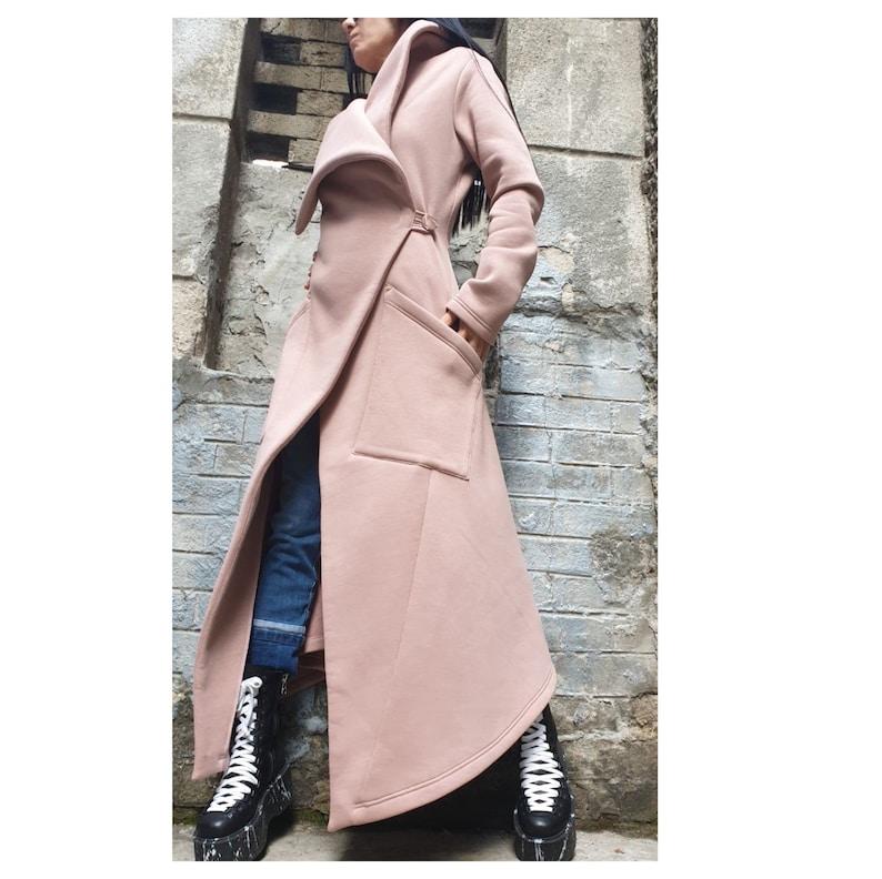 Elegant Warm Winter CoatExtravagant Asymmetric CoatElegant Wool Winter CoatUrban Woman ClothingCasual Comfortable CoatStylish Long Coat