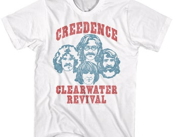 FORTUNATE SON UNOFFICIAL CREEDENCE CLEARWATER REVIVAL T-SHIRT ADULTS /& KIDS CCR