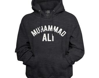 Cassius Clay Petrol Premium Hoodie Hoody Boxing Muhammad Ali The Greatest
