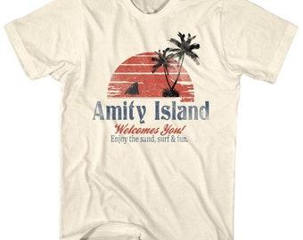 Jaws Amity Island Movie Shirt