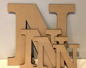 Letters MDF Premium Quality 170mm x 3.2mm craft letter blanks letters for you to decorate Clarendon Font MDF Letter blanks