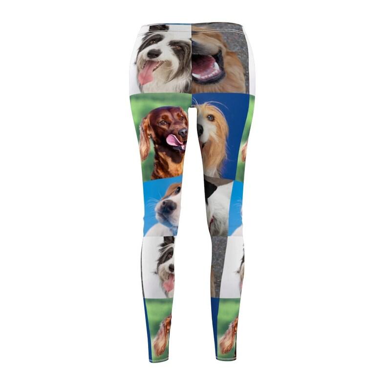 Pet parent leggings Dog lovers leggings Dog owners leggings USA Made