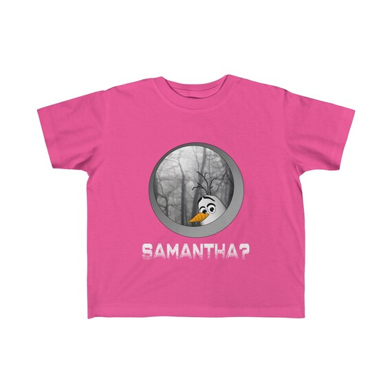 Kids Olaf Frozen 2 Samantha Funny Cotton Tee Shirt
