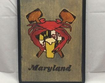 Maryland Crab & Beer
