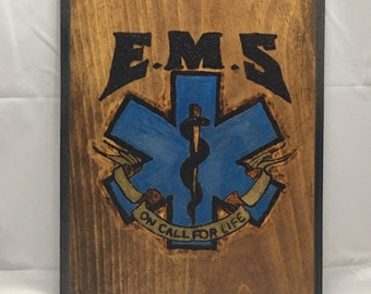 EMS Emergency Medical Service On Call For Life