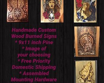 Custom Order Signs 9x11
