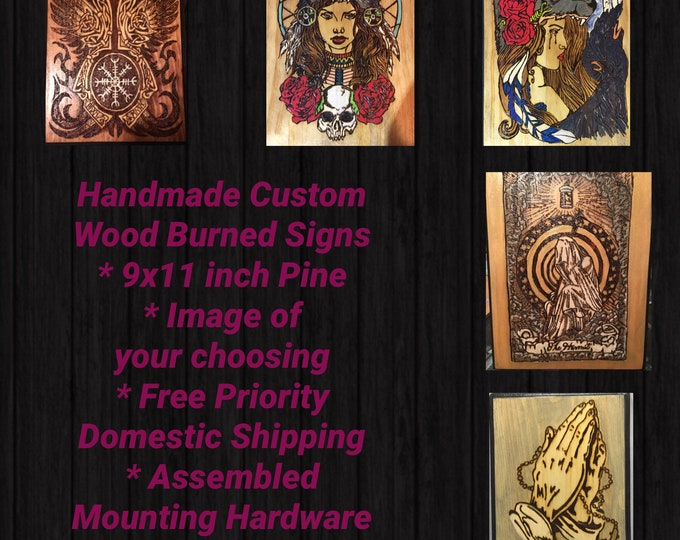 Featured listing image: Custom Order Signs 9x11
