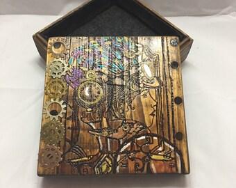 Steam punk Jewelry Box