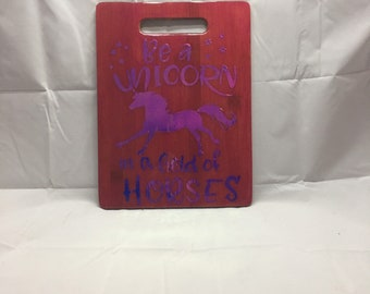 Unicorn Cutting Board
