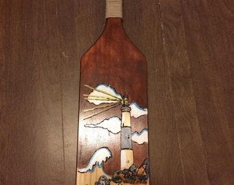 Nautical light house paddle