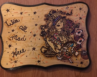 Wood signs 9x11 inch