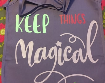Keep things magical child's apron