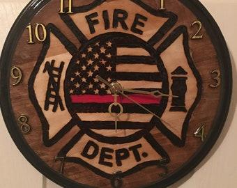 Fire Dept Clock