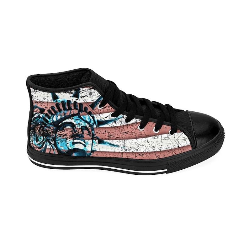US Liberty amante donna High-top Sneakersscarpe da ginnastica UTkFmIFt