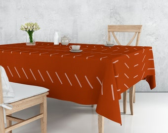 African handmade unique tablecloth