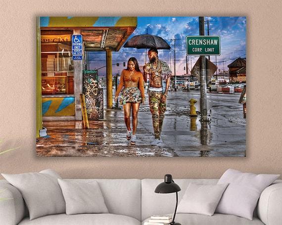 Nipsey Hussle Nipsey Hussle Canvas Nipsey Hussle Poster Nipsey Hussle Canvas Wall Art Nipsey