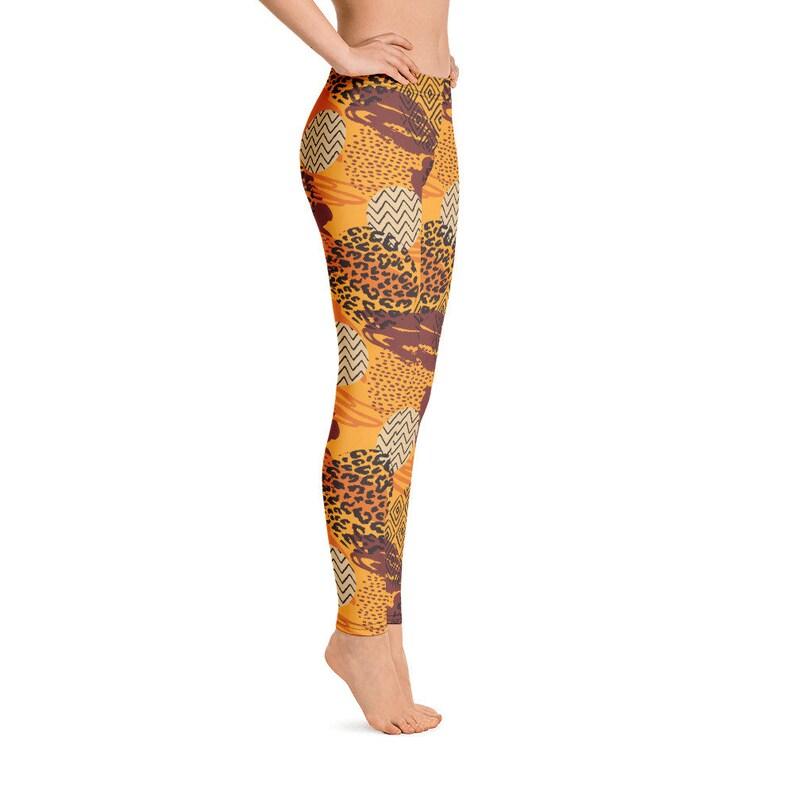 Tribal Print Leggings Fashion For Women Gym Pants Loungewear Women Yoga Leggings