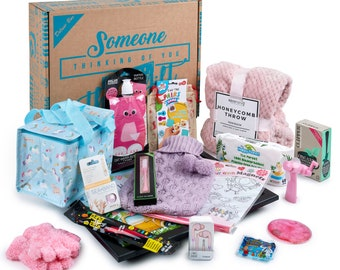 Pink Cancer Care Package For Children | Childhood Cancer Gift Hamper | Kids Cancer | Cancer Hamper | Chemo Care Package
